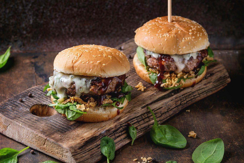 brotloser burger low carb